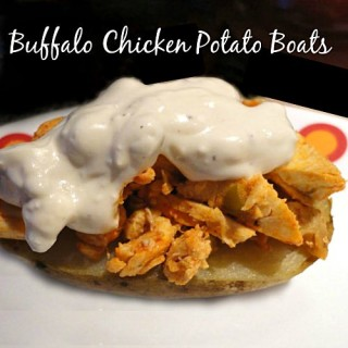Easy Game Day Recipes: Buffalo Chicken Potato Boats and Mini Turkey Sliders