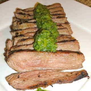 Flank Steak with IPA Beer Marinade