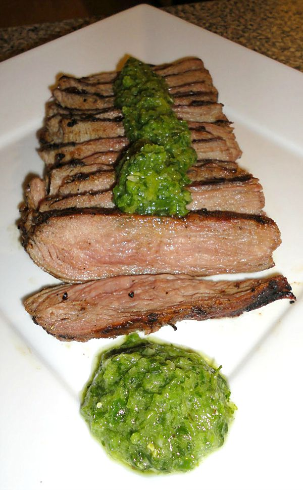 flank steak marinade beer
