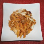 Baked Ziti with Sausage - Get the recipe on basilmomma.com