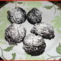 Dark Cocoa Fudge Cookies - recipe from basilmomma.com