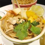 Asian Peanut Sauce Pasta Bowls - A quick, easy, and customizable weeknight dinner recipe from basilmomma.com