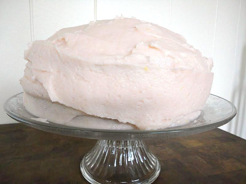 Pink Lemonade Cake Recipe - basilmomma.com
