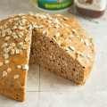 This hearty oats loaf is an easy quick bread that's perfect for a quick breakfast slathered with butter and preserves, or serve it as a side dish with dinner. Get the recipe from basilmomma.com