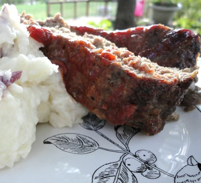 Basic Meatloaf Mix Recipe - Use this easy recipe as the base for meatloaf, meatballs, soups, casseroles, and so much more. Freezes well! | basilmomma.com