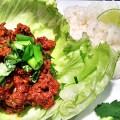 Thai Beef Lettuce Wraps Recipe, from basilmomma.com