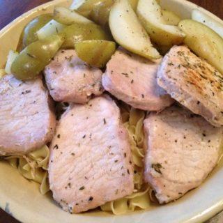 Easy Skillet Pork Chops Dinner