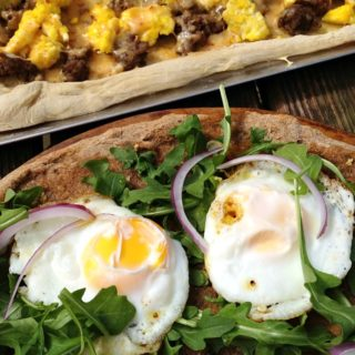 Sunny Egg Breakfast Pizza and a Staycation
