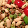 Wheat Berry White Bean Salad