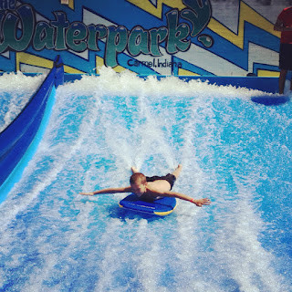 FlowRider at the Monon Community Center Waterpark….