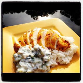 Tandoori Grilled Chicken ala Cooking Light