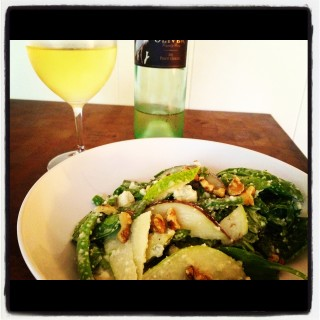 Fall Salad Made Better with Oliver Wine
