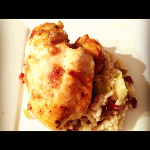 Brown Sugar Chicken - one of my family's favorite easy chicken recipes. Get the recipe on basilmomma.com