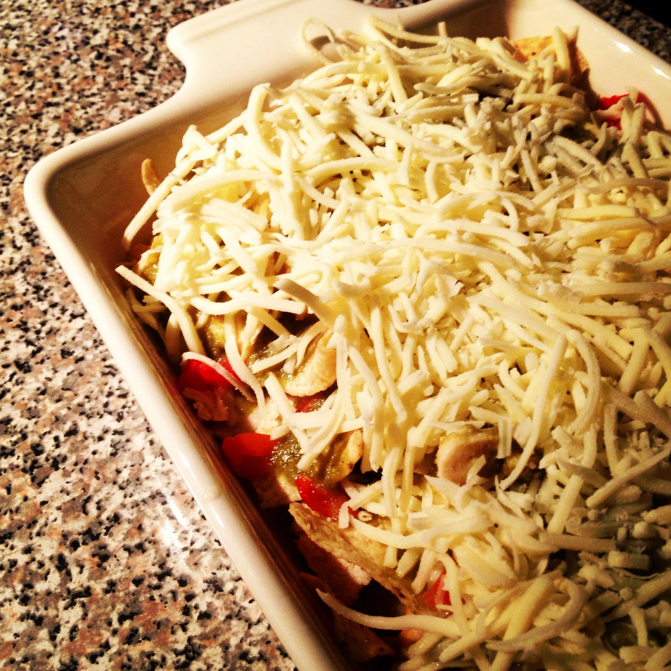 Tortilla Chip Casserole- a Cooking Light Recipe