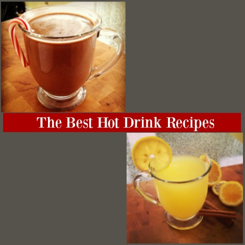 Cold Weather Drink Recipes - Hot Lemonade + Hot Chocolate