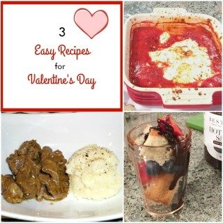 Easy Recipes for Valentine's Day as Seen on Fox 59 Indianapolis