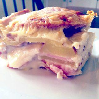 Cheesy Ham 'n Potato Gratin