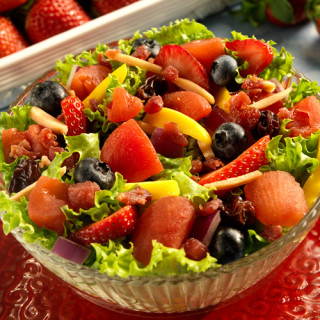 Spring Salads with Red Gold Tomatoes