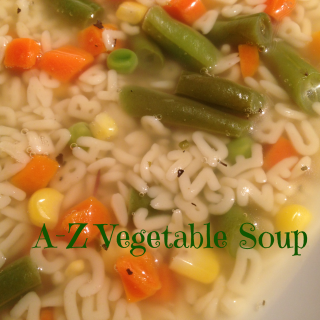 A-to-Z Vegetable Soup~Garfield: Recipes with CATtitude by Gooseberry Patch