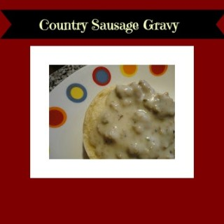 Country Sausage Gravy~ Garfield: Recipes with CATtitude by Gooseberry Patch