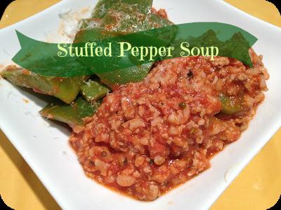 Stuffed Pepper Soup Recipe | Basilmomma.com