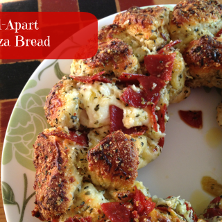 Pull-Apart Pizza Bread~ Garfield: Recipes with CATtitude by Gooseberry Patch