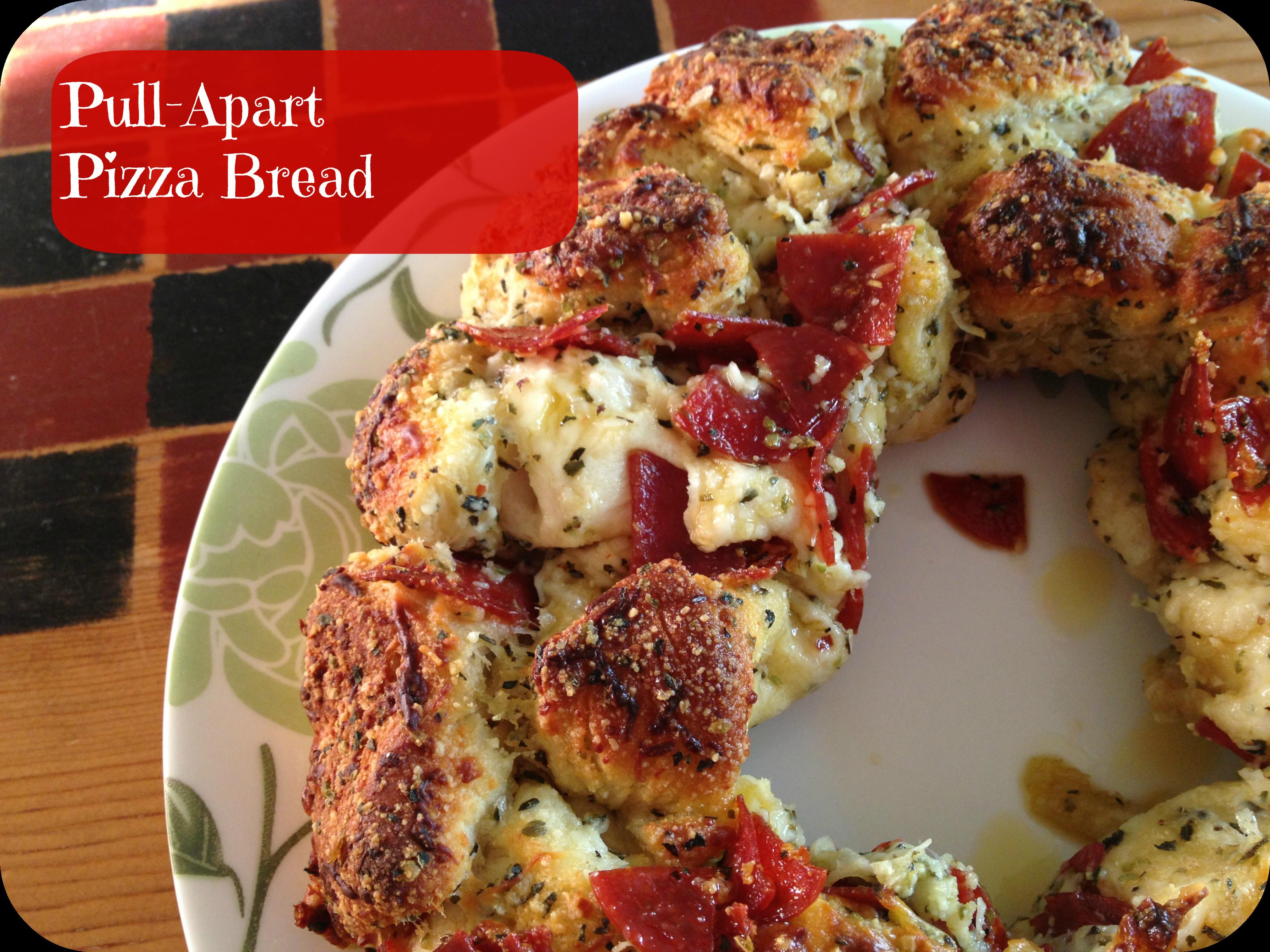 Pull Apart Pizza Bread - Gooseberry Patch Recipe - Basilmomma