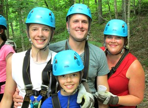 Exploring Squire Boone Caverns and Ziplining Adventures! Family Fun Summer