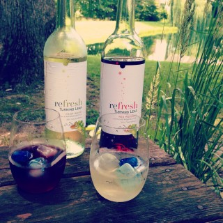 #WineOverIce Kick Back and Relax with Refresh by Turning Leaf
