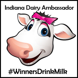 American Dairy Association Ice Cream Social #WinnersDrinkMilk