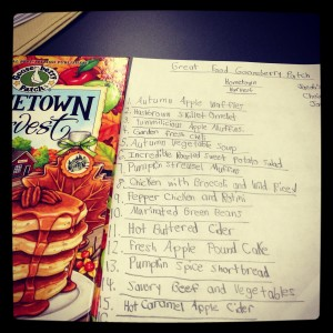 recipe ideas from the Gooseberry Patch cookbook - A Hometown Harvest