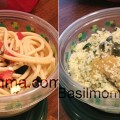 Two Easy Lunch Recipes with Olives - These quick lunch recipes are both healthy and easy to pack into a lunch box. Tomato pasta tossed with black olives, and Citrus green olive couscous. Get the recipes on basilmomma.com