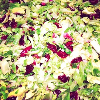 Shredded Brussels Sprouts Saute