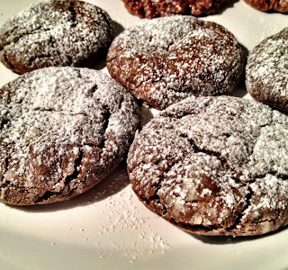 Gifts From The Heart….Chocolate Crinkle Cookies