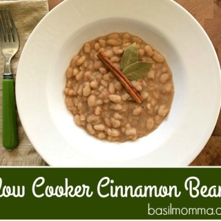 Cinnamon Spiced Slow Cooker Beans