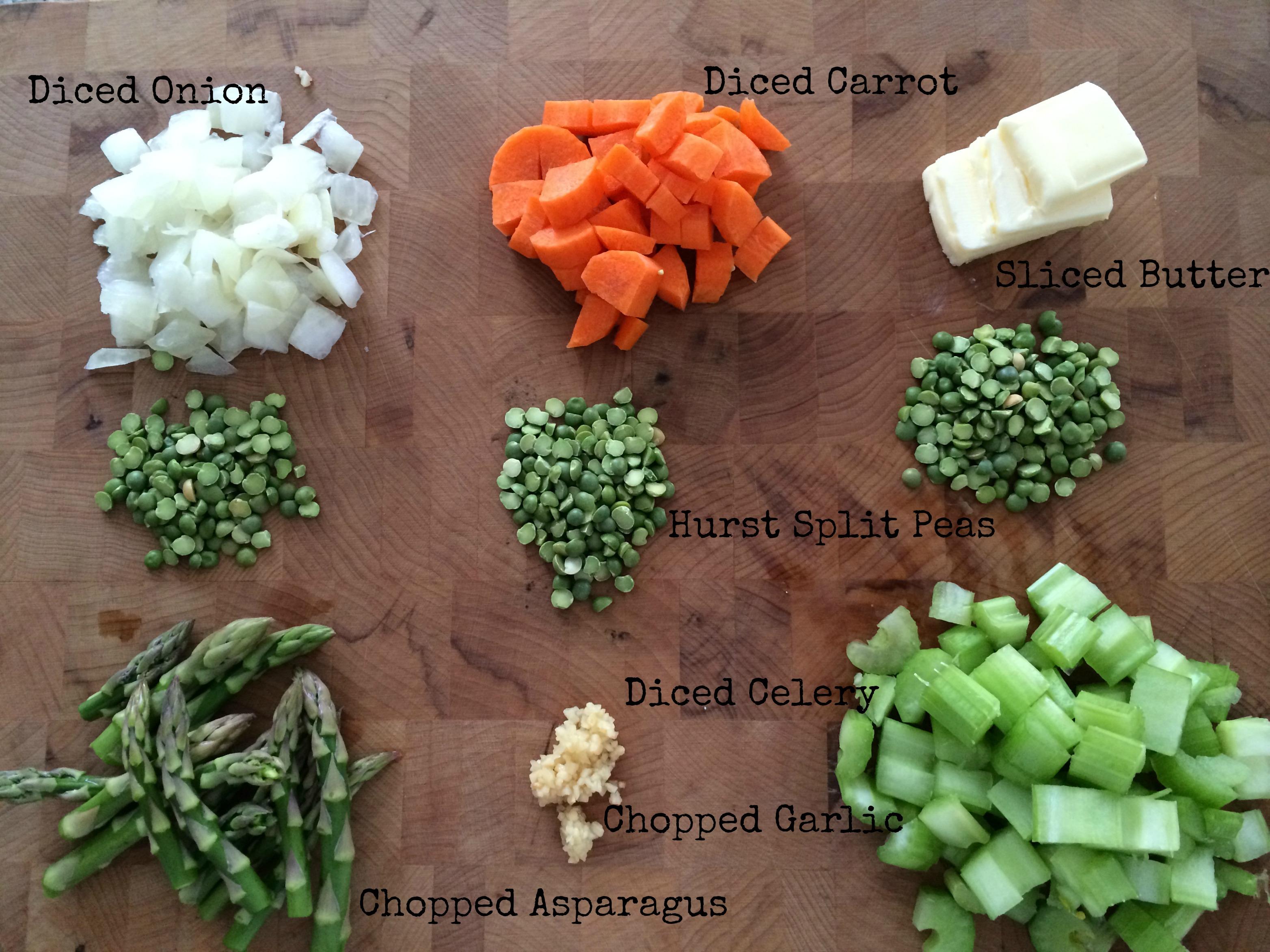 Hurst Beans Split Pea and Asparagus Soup