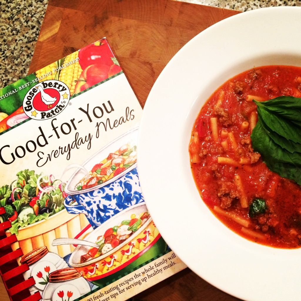 Gooseberry Patch Spaghetti Soup