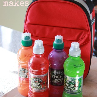How I Keep My Kids Lunchboxes Interesting #Fruitshoot