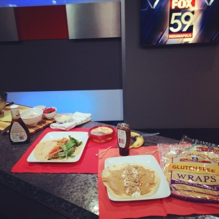 3 Healthy Wraps~ as Seen on Fox59 Indianapolis