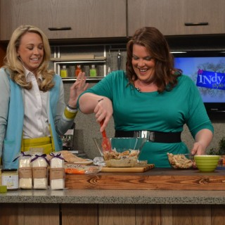 Mustard Chicken Salad – as Seen on IndyStyle
