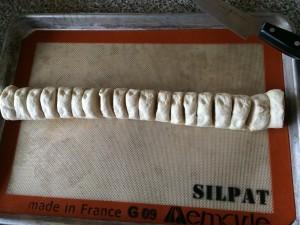Pepperoni Stuffed French Bread