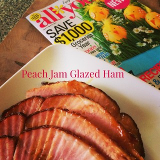 Peach Glazed Ham Recipe {Easy Easter Recipes}