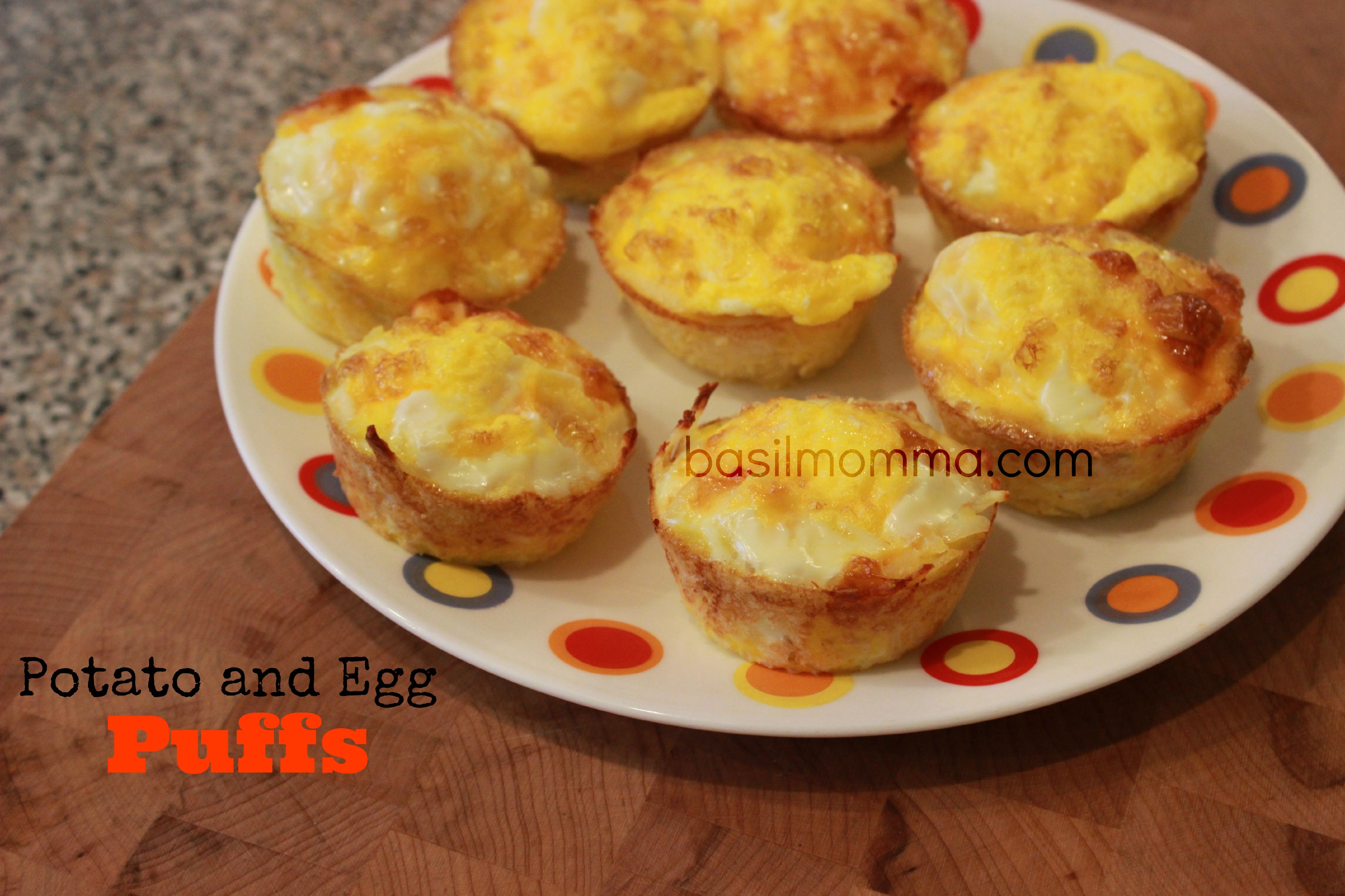 potato egg breakfast puffs