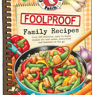 Gooseberry Patch Cookbook Giveaway- Foolproof Family Recipes!