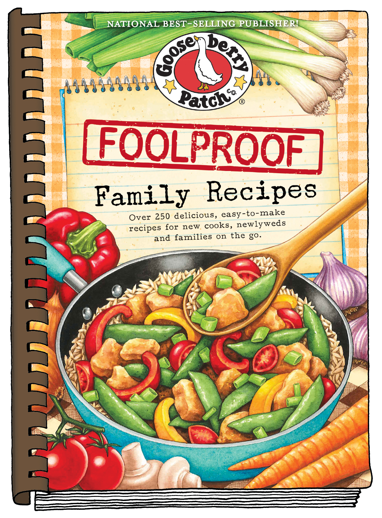 Gooseberry Patch Cookbook Giveaway- Foolproof Family Meals!