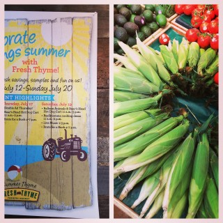 3 Easy Summer Recipes for the Fresh Thyme Farmers Market!