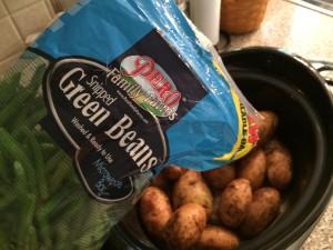 slow cooker chicken green beans potatoes