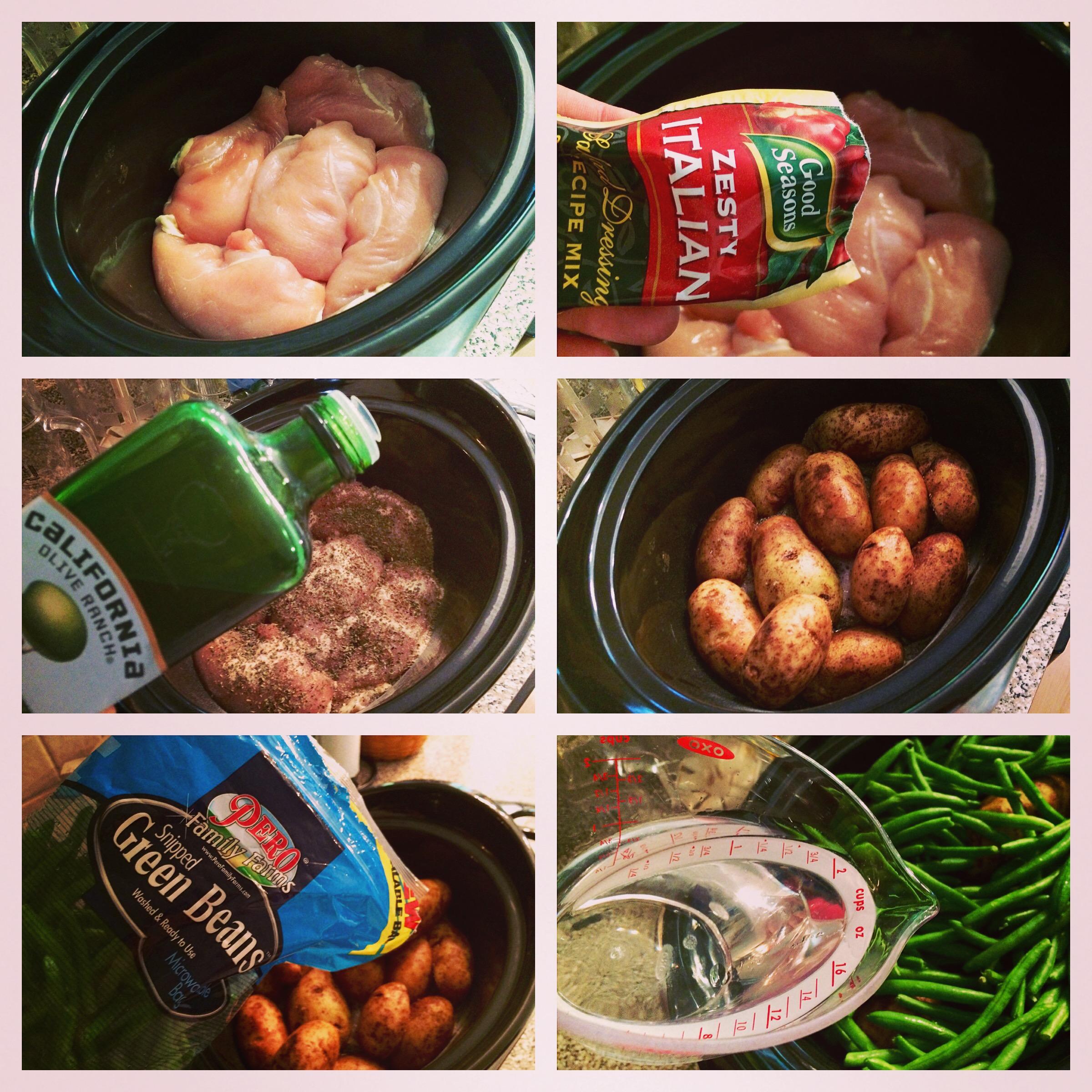 Crock pot recipes chicken breast and potatoes