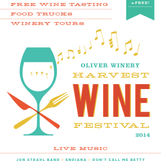 Oliver Winery :Third Annual Harvest Wine Festival