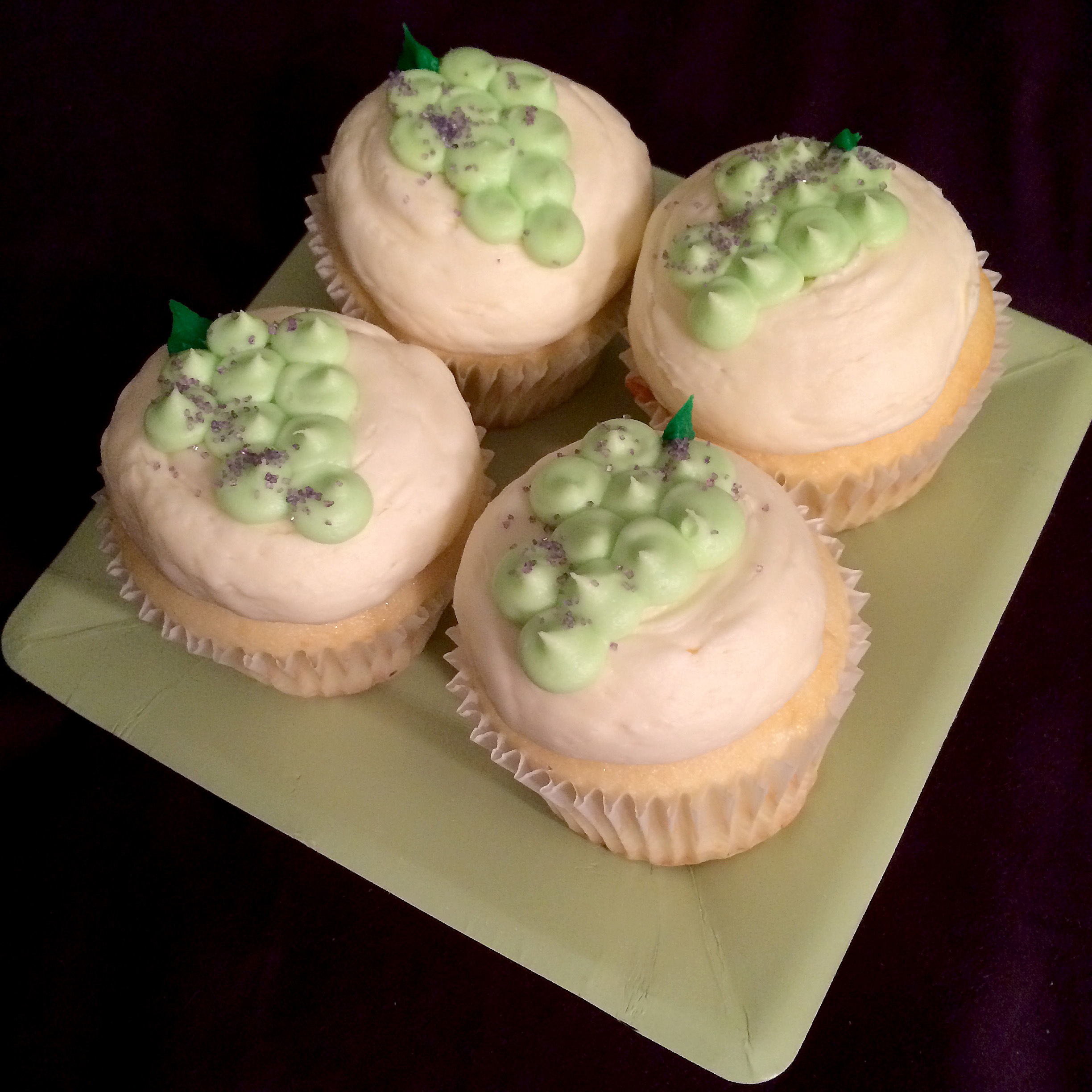 Indiana Traminette Cupcakes